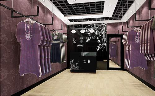 上海服装店形象墙,logo墙,标志墙设计制作